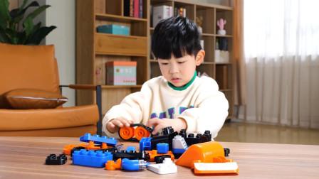 5款造型玩法多样的鲁鲁百变轻型挖掘机
