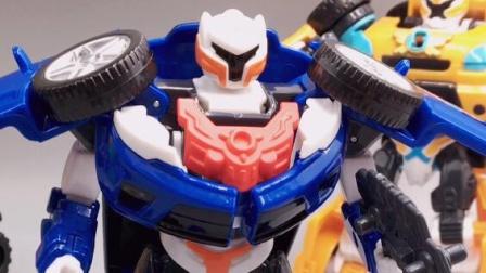 托宝兄弟变形机器人托宝战士Y玩具