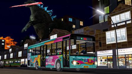 巴士模拟2 安妮斯潘尼克 #10:城市遭到怪兽入侵 100km/h飞速逃窜 | OMSI 2 Annespanic 寂静岭第三章