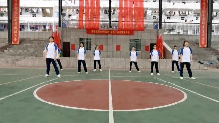 邵阳县第七中学《你笑起来真好看》五四球场版
