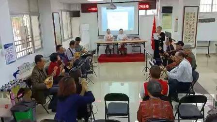 汕头市碧霞社区乐队奏唱《白衣战士》致敬!逆行抗疫英雄。
