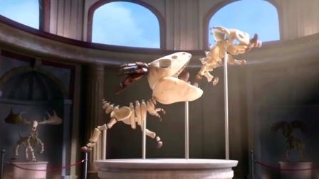 两个小屁孩打架,居然把恐龙打灭绝了!奇幻动画《神的启示》