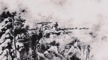 艺术品装饰:右向斗方山水