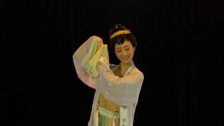 清影悠悠,袅袅婷婷,孙夕茹原创水袖舞《如梦令》重现宋代女子淡雅之美