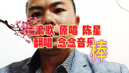 陈星经典歌曲《流浪歌》被他唱得伤感催泪,想念年迈的妈妈
