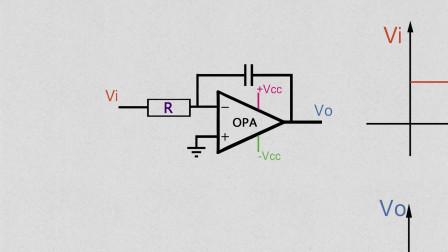 第49期 05 基础运算电路,运放的积分运算电路Rf作用修正,欢迎指导