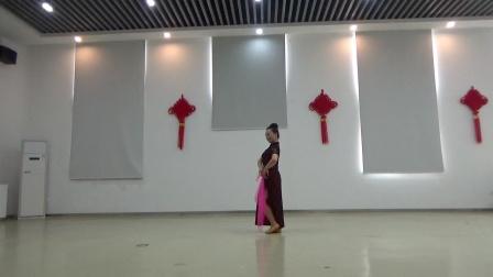 旗袍丝巾舞蹈:秦淮景.习舞:月亮