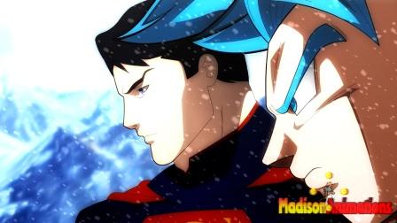 同人动画,超人穿越到龙珠世界,悟空迎来了不一样的对手