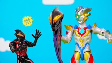 泽塔与机甲战龙把贝利亚的雕像做成了武器?太酷了吧