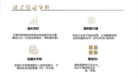 5个基本面选出潜力股