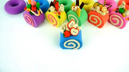 橡皮泥蛋糕视频玩具