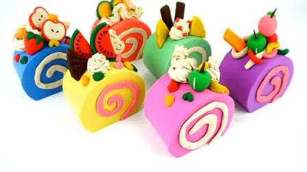 培乐多彩泥蛋糕玩具儿童玩具