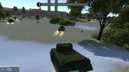 战地模拟器:谢尔曼坦克大决战开始,WW2战争系列