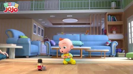超级宝贝:这玩具可以动呀,吸引了宝宝的注意力,这玩具真好玩呀