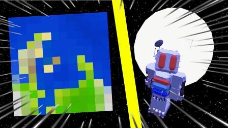 我的世界超星系32:继续完善空间站,给氧气罐充氧气!