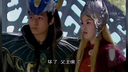 《宝莲灯》第10集:二郎神得知沉香是被龙抓走,去找龙王要人