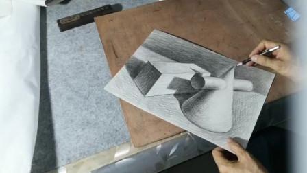 简单几何体素描深入刻画
