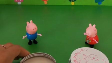 乔治佩奇佩奇都有玩具,他们说自己的玩具好玩,真的也是没谁了