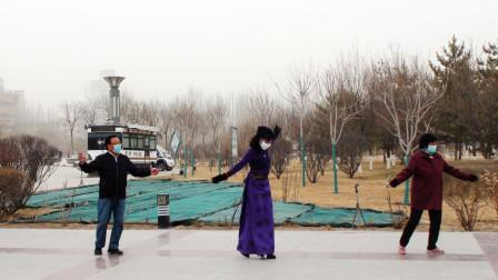 新宁广场锅庄舞(60)白玛欧珠的新歌