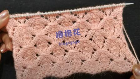这样织出来的格子花别有风味,捆格花编织教程,新颖别致又有颜值