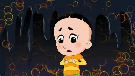 大头儿子和小头爸爸:大头没学会倒立,他很郁闷,大头不开心了