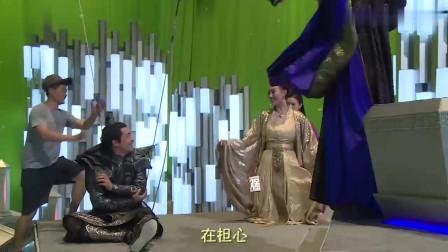 哪吒降妖记花絮:黑暗使者摔倒,女王在看热闹