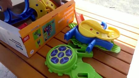 组装滑梯跑道小蹦床玩具