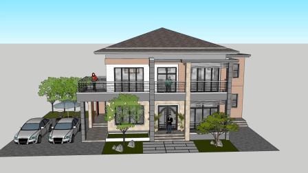 美!这栋房子造价只有30万就可以建成