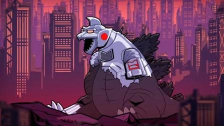 """哥斯拉大战金刚,结果被打出第2形态,""""机械哥斯拉""""了解一下!"""