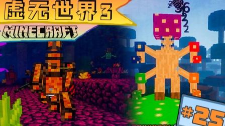 虚无世界3生存 第二十五集 秘境蘑菇王 符境大嘴怪