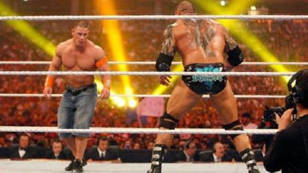 """摔角狂热WWE冠军头衔战,塞纳手刃""""野兽""""巴蒂斯塔强势登顶!"""