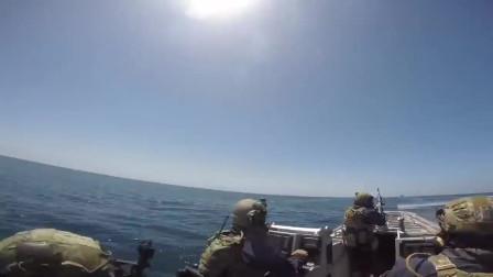 美国海岸警卫队进行海上安全响应训练(3283)