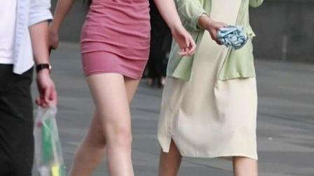 身材好才能驾驭的一款包臀连衣裙