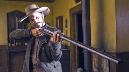硬汉牛仔为一寡妇向黑帮低头,搭档忍无可忍霸气复仇