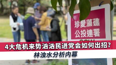 """民进党遭4大危机来袭,前""""绿委"""":虽然动作很大,但气势很弱"""