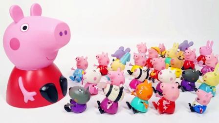 小猪佩奇肚子里藏着恐龙玩具蛋 小猪佩奇小百科
