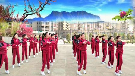 湖南双峰激扬舞步健身队完整集体版  跳跳乐第22套晓敏快乐健身操