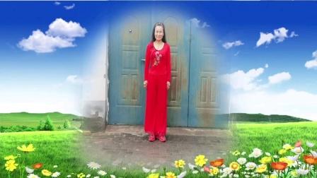 内蒙古乌海明珠广场舞,学跳版(可可托海的牧羊人)编舞美久导师