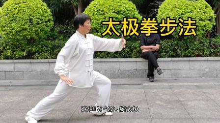 太极拳的步法练习,不知道谁编的,很适用