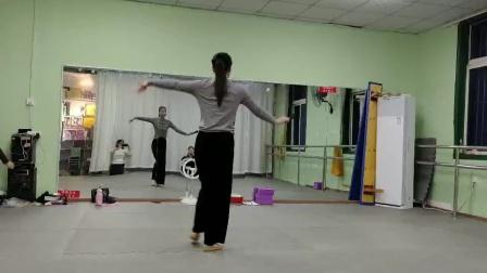 古典舞恨在今天遇见你视频背面分解动作五,阜阳艺路舞蹈提供