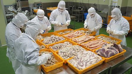 韩国工厂如何处理牛肠?反复清洗三次再蒸熟,每月出口到中国5000斤