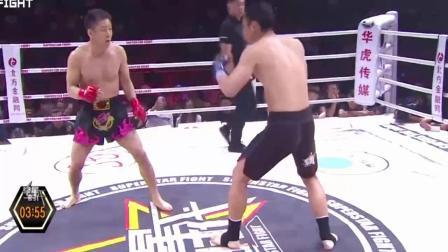 最精彩的拳击搏击擂台赛 中国猛将吊打日本武士