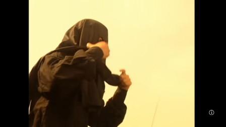 天龙八部:黑衣人首次露面,望着远去的乔峰用心良苦!