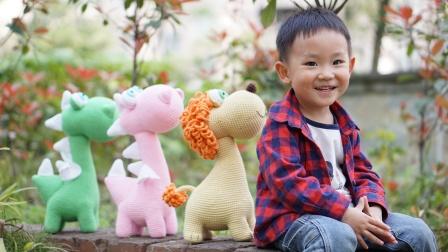 「第158上集」萌系动物家族通用动物头 钩针玩偶 毛线娃娃