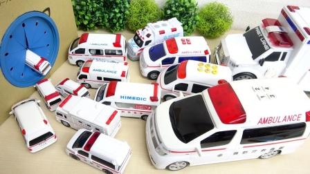 汽车玩具故事:好奇怪!为何会有这么多辆救护车聚集在一起?