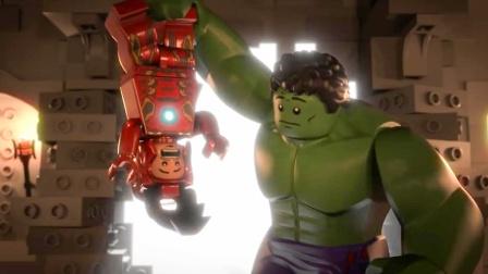 """绿巨人无法自控,一打架就痛击队友,为此钢铁侠想了个""""好方法"""""""