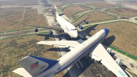 空军一号与波音客机相撞会怎样?