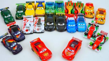 对比赛车总动员小汽车玩具