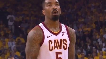 什么情况?JR被勇士球迷高喊MVP