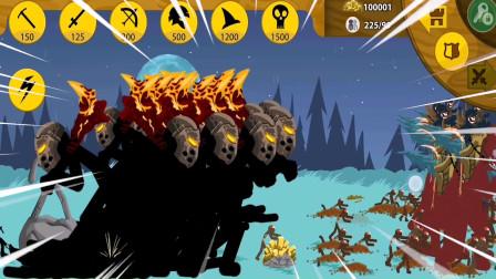 火柴人战争:狮鹫大帝队伍和僵尸团队,能不能打赢敌军?